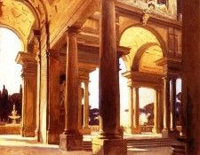 Sargent John Singer A Study of Architecture Florence. Сарджент, Джон Сингер
