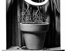 Z 021 The U was Abruptly Uprooted ChrisVanAllsburg sqs. Allsburg, Крис Ван