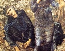 Burne-Jones - The Beguiling of Merlin (end. Берн-Джонса сэра Эдварда Коли