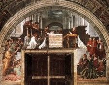 Raphael The Mass at Bolsena. Рафаэль