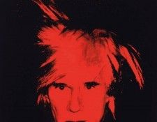 Warhol Self portrait, 1986, Private. Уорхол, Энди