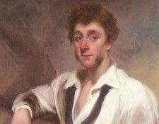 Chinnery George Portrait Of A Gentleman. Chinnery, Джордж