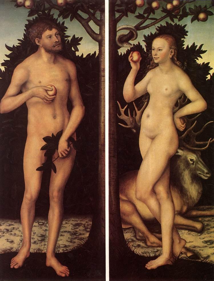 И посмотрел бог как живут Адам и Ева и да создал бог - порно И сказал