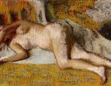 Degas Edgar After the Bath3. Дега, Эдгар-Жермен-Илер