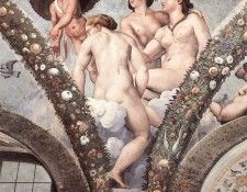 Raphael Cupid and the Three Graces. Рафаэль