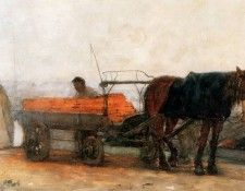 Arntzenius Floris Horse And Carriage Sun. Arntzenius, Флорис