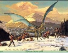 Larry Elmore - Mountain Conflict (Abraxsis). Elmore, Ларри