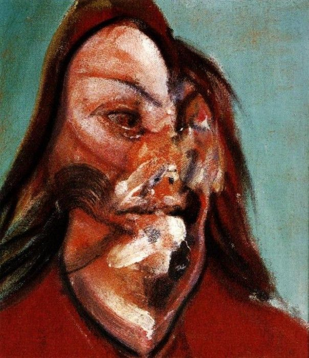 Bacon Study for a Portrait of Isabel Rawsthorne 1966. Бэкон, Фрэнсис