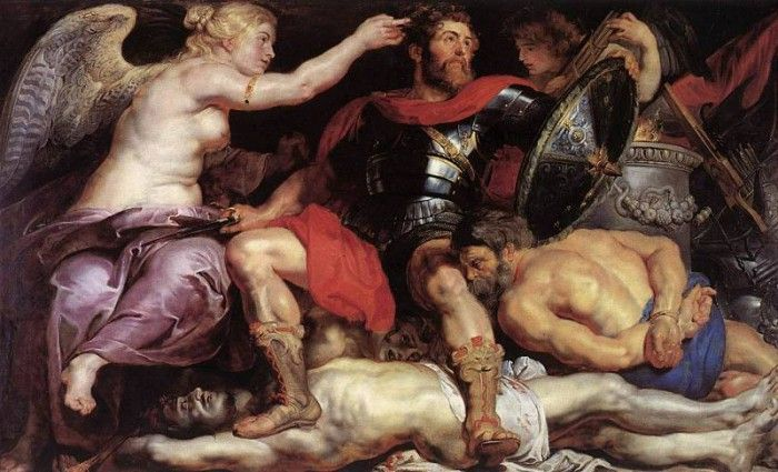 Rubens The Triumph of Victory. Рубенс, Питер Пауль