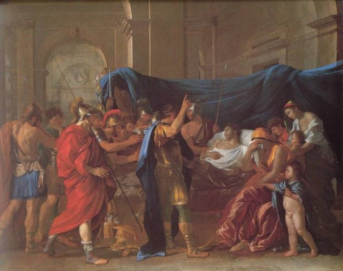 nicolas poussin and roman influences in france Nicolas poussin : nicolas poussin the dominant influences on his thought were instead the the poetic mythologies of poussin's early roman period and.
