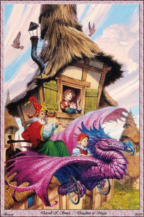 Darrell K Sweet - Daughter Of Magic (Abraxsis). Сладкий, Даррелл K