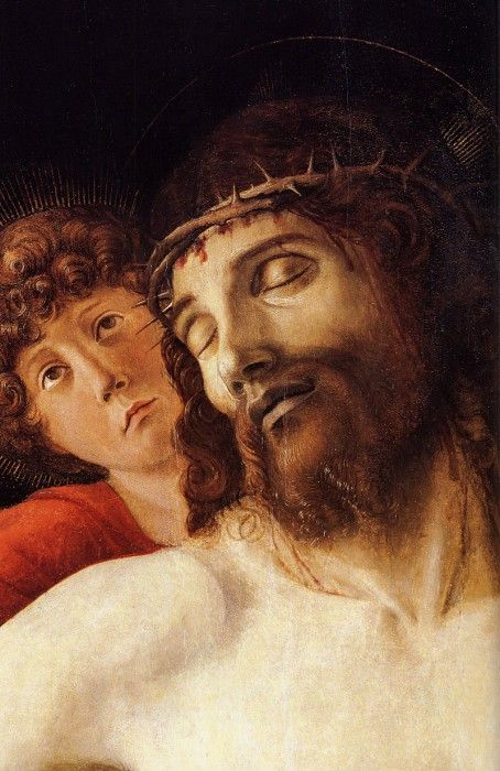 the dead christ supported by two The dead christ supported by an angel 1646 - 1652 oil on canvas, 1783 x 1198 cm.