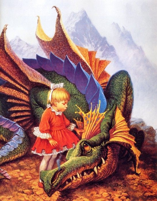 Sweet, Darrell K - Dragon on a Pedestal (end. Сладкий, Даррелл K