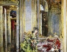 A Friend of the Marquis 1875. Boldini, Джованни