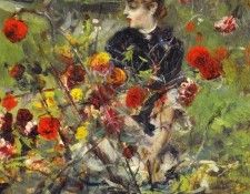 The Summer Roses. Boldini, Джованни