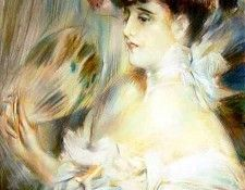 Madame Marie Louise Herouet. Boldini, Джованни