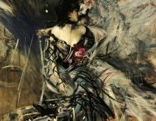 Spanish Dancer at the Moulin Rouge 1905. Boldini, Джованни