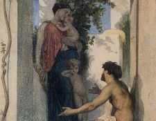 Bouguereau William La Charite Romaine. Бугро, Адольф Вильям