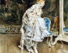 The Beauty Before The Mirror. Boldini, Джованни