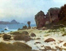 Bierstadt Albert Bay of Monterey. Бирштадт, Альберт