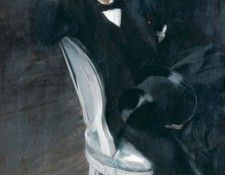Portrait of James McNeill Whistler 1897. Boldini, Джованни
