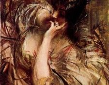 The Bouse of Voile. Boldini, Джованни