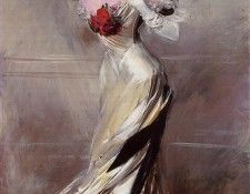 Portrait of the Countess Zichy 1905. Boldini, Джованни