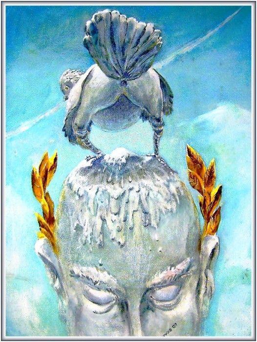 Проект памятника.Фрагмент. оргалит-масло 500х700 2007 600$