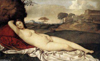 Картина «Спящая Венера»