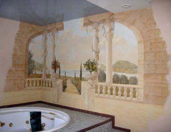 Художественная роспись стен: основные моменты