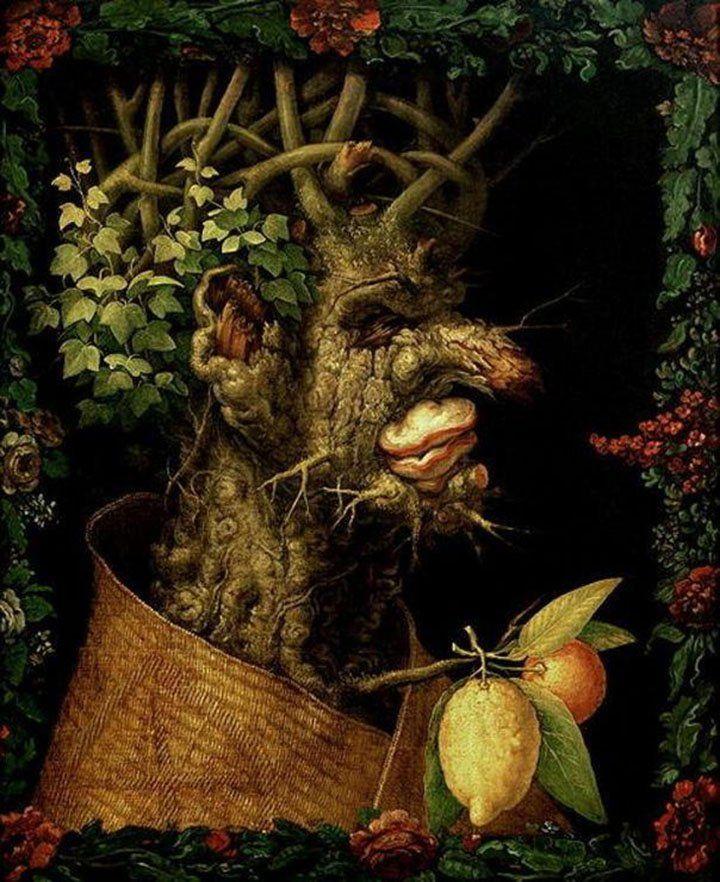 картины-аллегории Арчимбольдо ...: artist-gallery.ru/prikladnoe-iskusstvo/107242-neobychnye-kartiny...