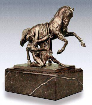 Скульптура из бронзы как произведение искусства