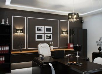 Дизайн интерьера кабинета руководителя: как выбрать