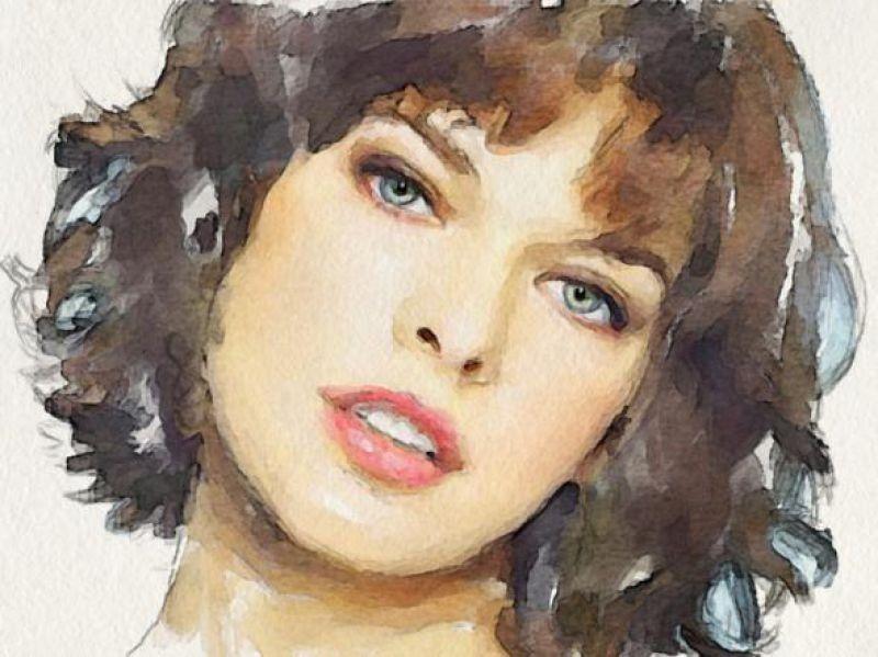 Живопись портреты рисунки