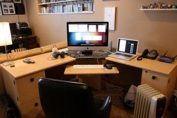 Как обустроить рабочее пространство за компьютером