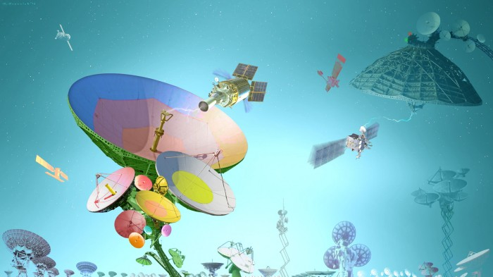 Радиоэлектронные цветы