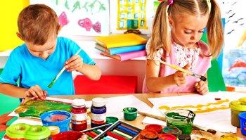 Как и где лучше сделать выбор красок детям для рисования
