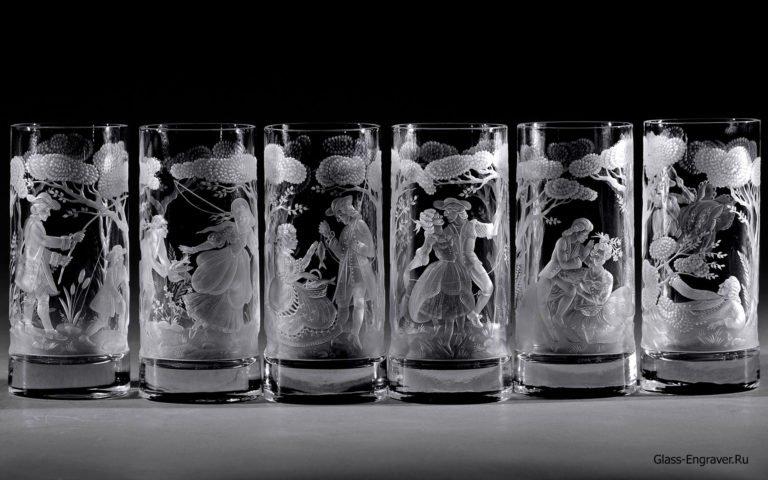 Уникальная гравировка стекла от невероятных мастеров