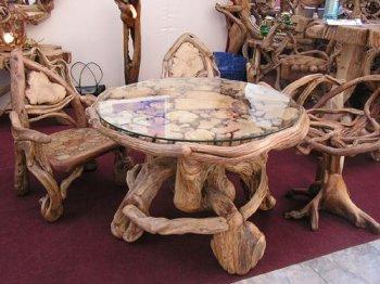 Эксклюзивная мебель из натурального дерева